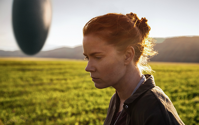 """This image released by Paramount Pictures shows Amy Adams in a scene from """"Arrival,"""" in theaters on November 11. (Jan Thijs/Paramount Pictures via AP) ORG XMIT: NYET949"""