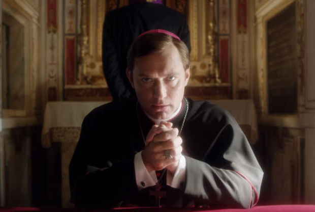 Jude Law como o papa norte-americano Pius XIII na s�rie 'The Young Pope