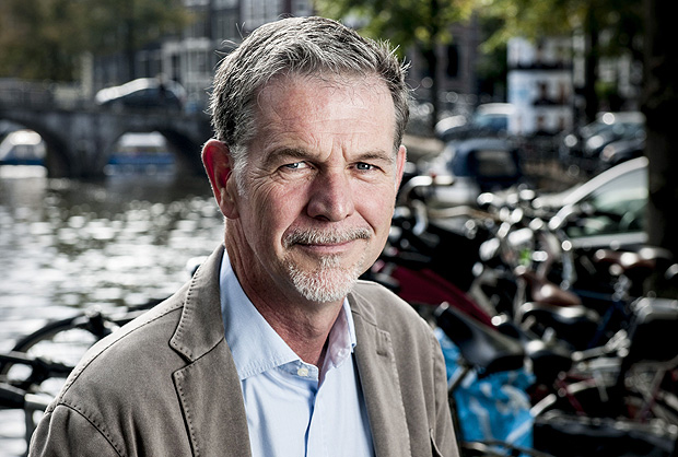O co-fundador e CEO da Netflix, Reed Hastings