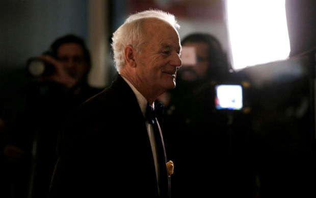 Actor and comedian Bill Murray arrives to receive the 19th annual Mark Twain Prize for American Humor at the Kennedy Center in Washington, October 23, 2016. REUTERS/Joshua Roberts ORG XMIT: WAS715