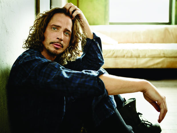 O cantor e compositor Chris Cornell