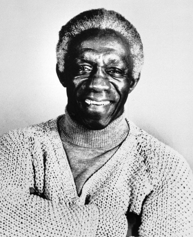 ORG XMIT: 324301_1.tif **FILE** A 1985 file photo of Art Blakey. Blakey has been honored with a historical marker that will be placed at his boyhood home in Pittsburgh's Hill District. Musicians followed the unveiling ceremony Sunday, Aug. 26, 2007, with nearly two hours of music, including some of the jazz drummer's work. (AP Photo)