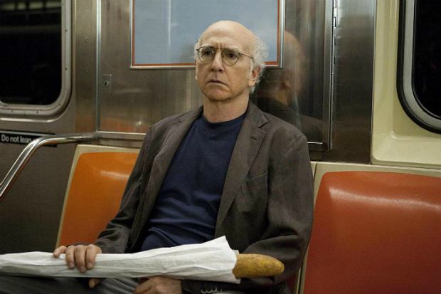 O comediante Larry David em cena da série 'Curb Your Enthusiasm