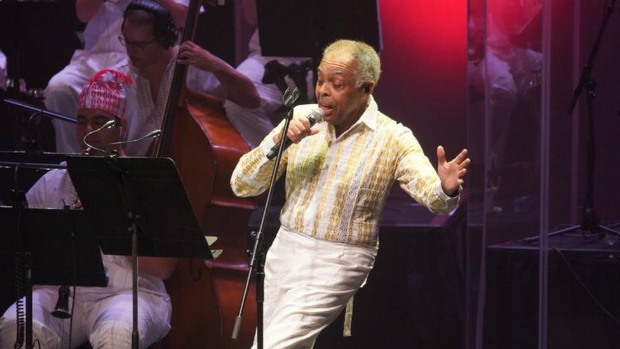 Gilberto Gil during a show in Londres
