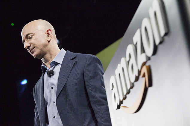 Amazon.com founder and CEO Jeff Bezos; the largest digital retailer in the world will begin selling printed books in Brazil