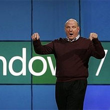 Steve Ballmer fala sobre o Windows 7; tela sensível ao toque incrementa visual