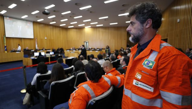 Petrobras said it will appeal the Superior Labor Court's ruling in the case, brought by oil workers seeking more pay