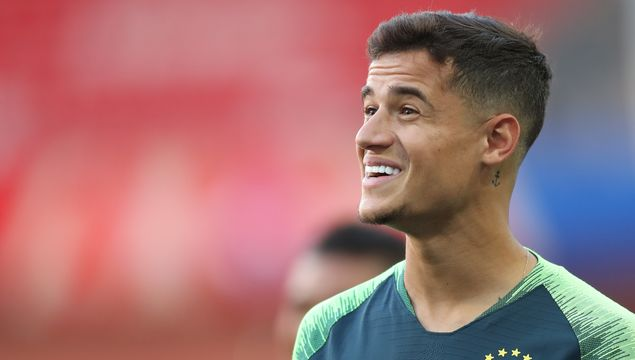 Philippe Coutinho in Moscow