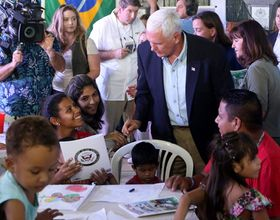 U.S. Vice President's Visit to Refugees in Northern Brazil Criticized