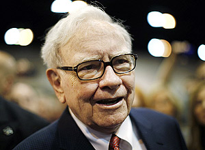 Warren Buffett, presidente do conselho e presidente-executivo do Berkshire Hathaway