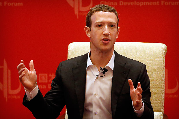 FILE - In this Saturday, March 19, 2016, file photo, Facebook CEO Mark Zuckerberg speaks during a panel discussion held as part of the China Development Forum at the Diaoyutai State Guesthouse in Beijing. Zuckerberg briefly found his Twitter account hijacked, as were at least two of his other social media accounts. Zuckerberg's Facebook account and password were not compromised, the company said in a statement; his account on Facebook-owned Instagram was also unaffected. Facebook Inc. said Monday, June 6, 2016, that none of the company's systems or accounts were accessed and that Zuckerberg's affected accounts have since been re-secured. (AP Photo/Mark Schiefelbein, File) ORG XMIT: NYBZ115