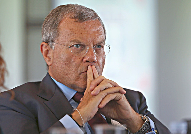 Martin Sorrell, Chairman and Chief Executive Officer of advertising and marketing company WPP, attends The Times CEO Summit in London, Tuesday June 28, 2016. The annual event hosted by The Times of London attracts political leaders along with business executives. (Neil Hall/ Pool via AP) ORG XMIT: LON117