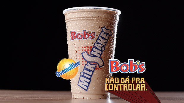 Milkshake de Ovomaltine do Bob's