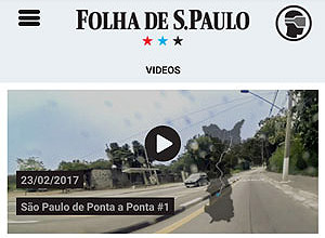 Folha Launches a Virtual Reality App Featuring a Video about São Paulo