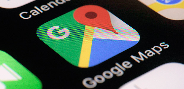 This Wednesday, March 22, 2017, photo shows the Google Maps app on a smartphone, in New York. Google is enabling users of its digital mapping service to allow their movements to be tracked by friends and family in the latest test of how much privacy people are willing to sacrifice in an era of rampant sharing. The location-monitoring feature will begin rolling out Wednesday in an update to the Google Maps mobile app that's already on most of the world's smartphones. It will also be available on personal computers. (AP Photo/Patrick Sison) ORG XMIT: NYPS302