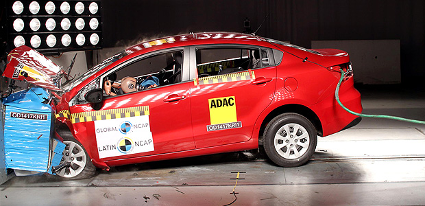 Kia Rio Sedan - NO Airbags