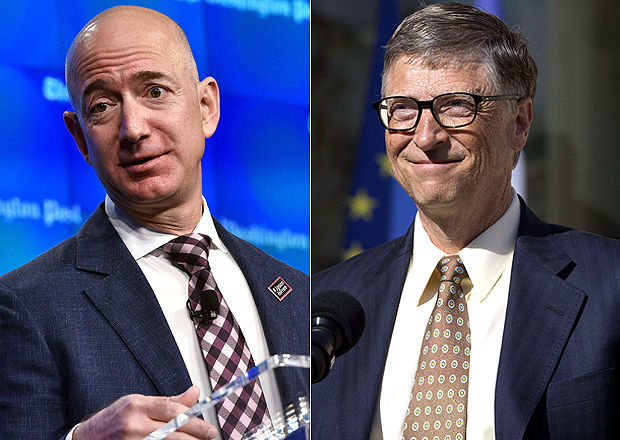 Dono da Amazon passa Bill Gates e se torna homem mais rico do mundo