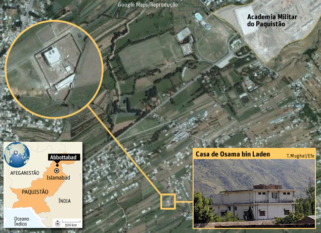 ARTE/MAPA - LOCAL OSAMA BIN LADEN
