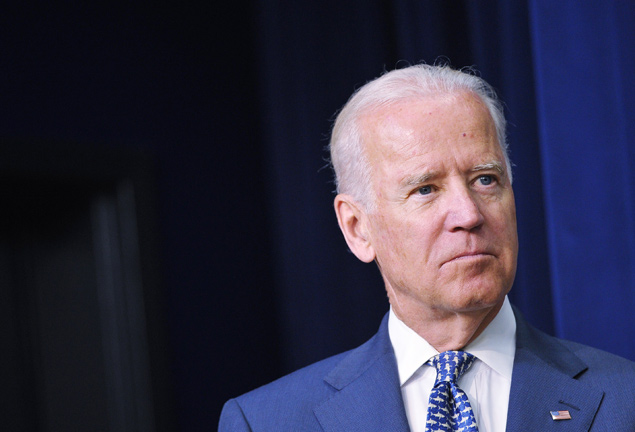O vice-presidente dos Estados Unidos, Joe Biden, 71