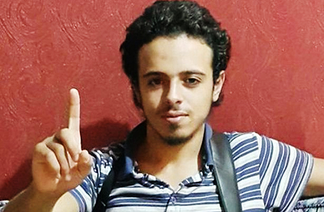 This undated and unlocated image shows French national Bilal Hadfi, 20, one of the suicide bombers who blew himself outside the Stade de France stadium during the Paris attacks on November 13. Investigators identified Hadfi as one of the three suicide bombers who detonated their devices outside the Stade de France stadium during the friendly football match France vs Germany. Hadfi lived in Neder-over-Hembeek in Belgium since returning from Syria, where he is believed to have been fighting along with Islamic State. A spate of coordinated attacks left at least 129 dead and over 350 injured in Paris late on November 13. AFP PHOTO ORG XMIT: -