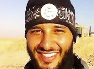 An unlocated picture posted in 2014 on his facebook account shows Foued Mohamed Aggad, who has been identified as the third bomber involved in the attacks at Paris's Bataclan music hall, police sources said on December 9, 2015. Foued Mohamed Aggad, a 23-year-old man from the eastern French city of Strasbourg, went to Syria with his brother and a group of friends at the end of 2013, according to a source close to the investigation.Ninety people died in the Bataclan attacks on November 13. The two other bombers have been identified as Omar Omar Ismail Mostefai, 29, and 28-year-old Samy Amimour. / AFP / OFF / HO
