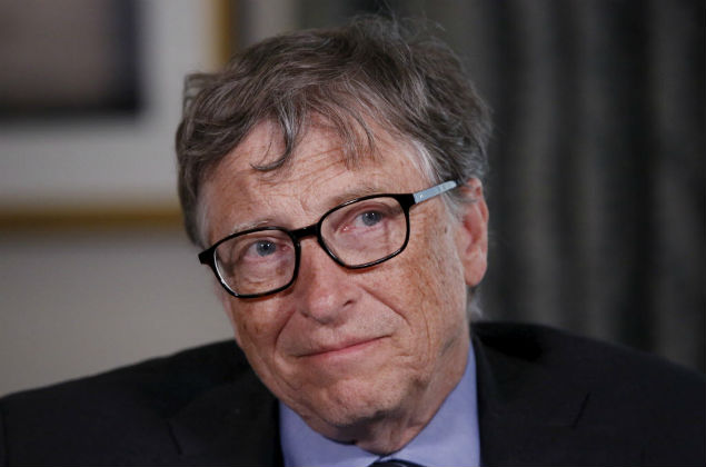 Microsoft co-founder listens to a question during an interview in New York February 22, 2016. The Bill and Melinda Gates Foundation has turned its attention to the Zika virus outbreak, and its founders said the response to the crisis, which may be linked to devastating birth defects in South America, has been better than for the 2014 Ebola outbreak in Africa.REUTERS/Shannon Stapleton ORG XMIT: SHN111