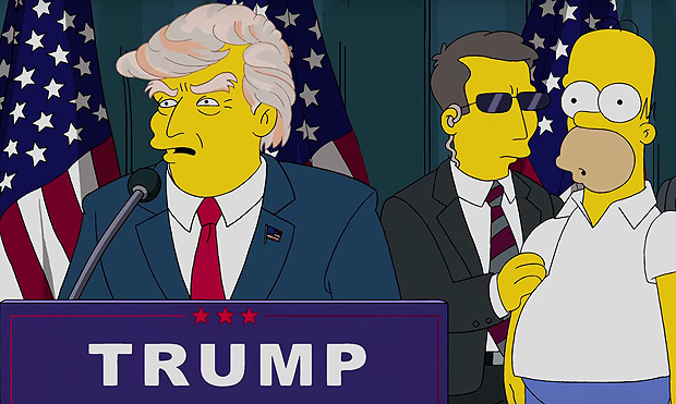 Trumptastic Voyage | Season 25 | THE SIMPSONS