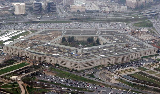 FILE - In this March 27, 2008 file photo, an aerial view of the Pentagon. Sexual misconduct and harassment allegations against senior Army leaders increased this year and more were substantiated than in 2015, according to a closely held report by the Army Inspector General. (AP Photo/Charles Dharapak, File) ORG XMIT: WX108
