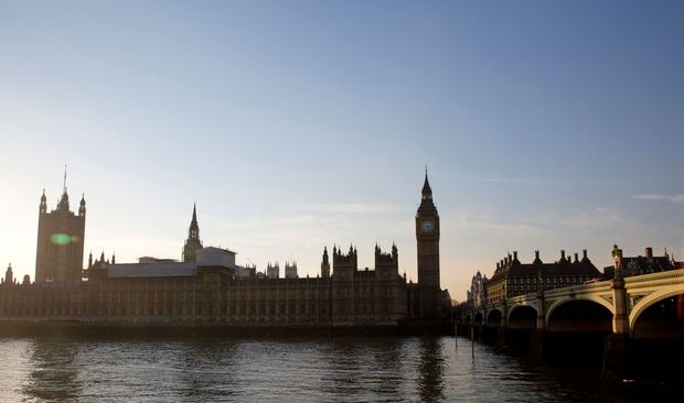 "The Elizabeth Tower, more commonly known as ""Big Ben"", and the Houses of Parliament are seen from the south side of the River Thames beside Westminster Bridge in central London on January 24, 2017. The British government must win parliament's approval before starting talks to leave the EU, the Supreme Court ruled Tuesday, in a landmark judgement and setback for Prime Minister Theresa May."