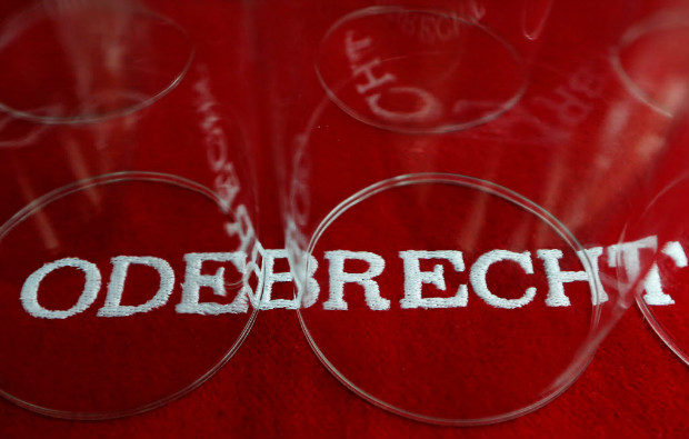 The corporate logo of Odebrecht
