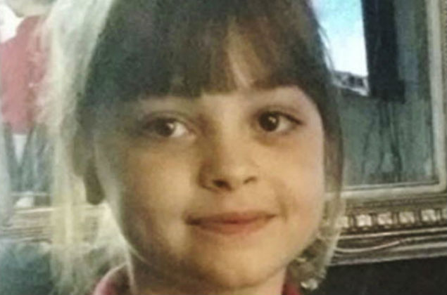 This undated photo obtained by the Press Association on Tuesday, May 23, 2017, of Saffie Roussos, one of the victims of an attack at Manchester Arena, in Manchester, England, which left more than a dozen dead on Monday. A suicide bomber blew himself up as concert-goers left a show by the American singer Ariana Grande. (PA via AP) ORG XMIT: LON925