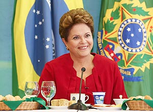 Presidente Dilma Rousseff no Palácio do Planalto