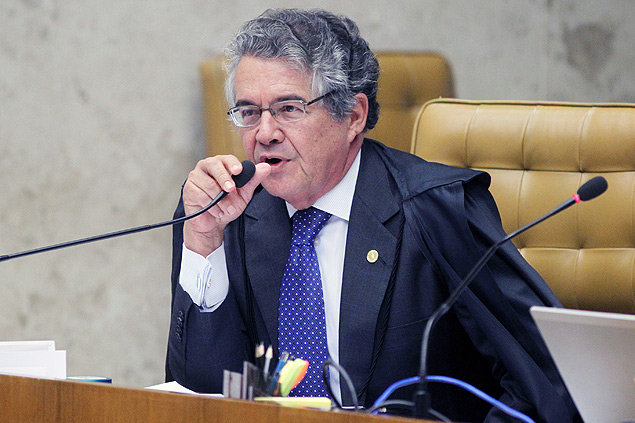 O ministro do STF (Supremo Tribunal Federal), Marco Aurélio Mello