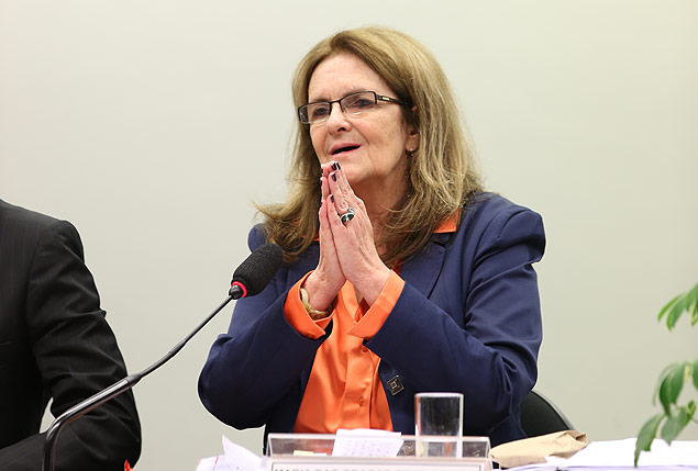 """Graça Foster has said to feel """"ashamed"""" and """"very embarrassed"""" for the bribery accusations made against Petrobras"""