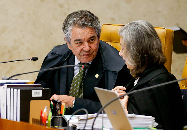 O ministro do Supremo Tribunal Federal, Marco Aur�lio de Mello