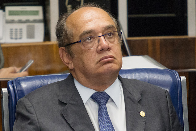 O ministro do STF (Supremo Tribunal Federal), Gilmar Mendes