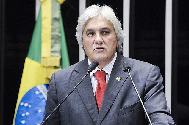 O senador Delcídio do Amaral (PT-MS)