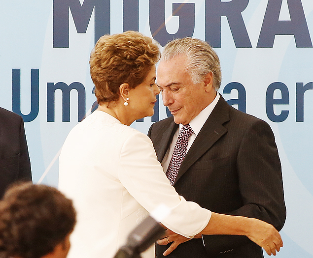 President Dilma Rousseff and Vice-President Michel Temer