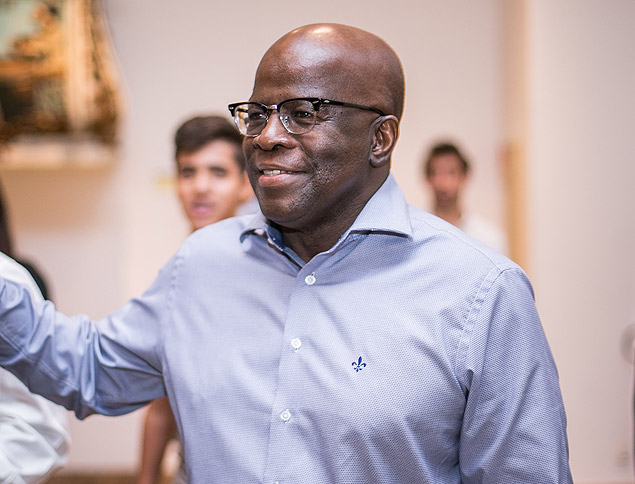 O ex presidente do STF Joaquim Barbosa
