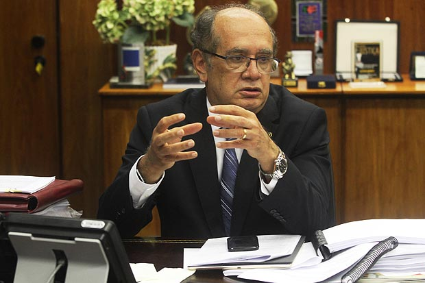 O ministro Gilmar Mendes, do STF (Supremo Tribunal Federal)