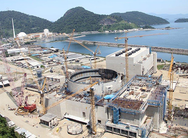 The nuclear power plant Angra 3 is 60% complete