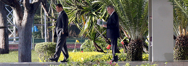 Brazil's President Michel Temer leaves the Jaburu Palace in Brasilia, Brazil May 18, 2017. REUTERS/Ueslei Marcelino ORG XMIT: UMS5