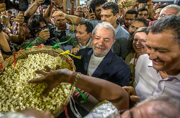 Lula's campaign trail through the northeast began on Thursday (the 17th) in Salvador and will include another 28 municipalities in the region