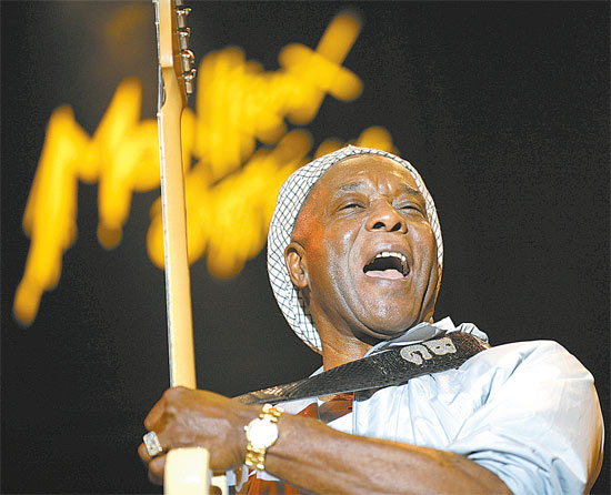 Lenda do blues, Buddy Guy se apresenta em maio de 2012 na capital paulista; ingressos j� est�o � venda