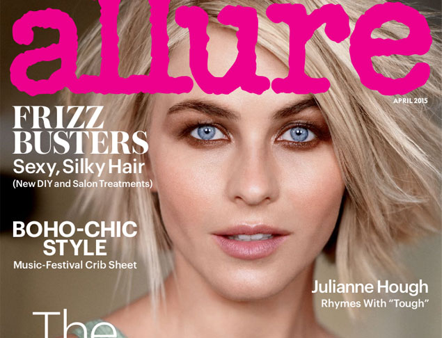 Capa da revista Allure