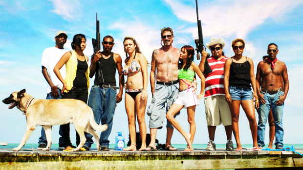 "Cena do document�rio ""Gringo: The Dangerous Life of John McAfee"""