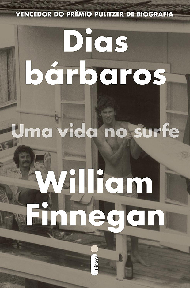 "Capa do livro ""Dias B�rbaros"", de William Finnegan"