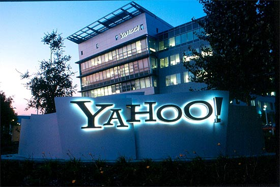 Sede central do Yahoo em Sunnyvale, nos Estados Unidos