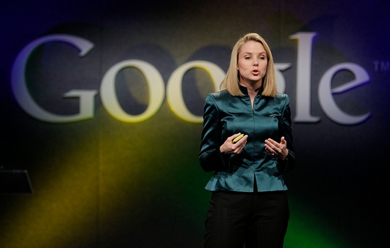 Marissa Mayer durante evento do Google em 2009; executiva é a nova chefe do Yahoo!