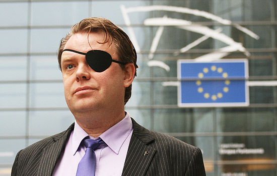 Rick Falkvinge, 40, fundador do primeiro Partido Pirata do mundo